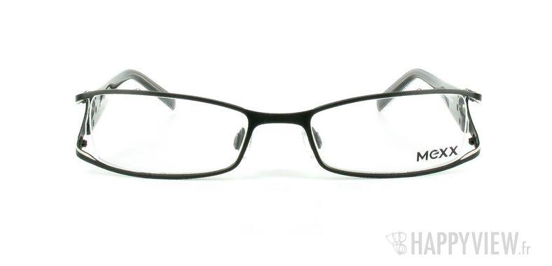 Lunettes de vue Mexx Mexx 5049 noir/blanc - vue de face