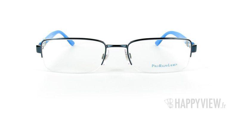 Lunettes de vue Polo Ralph Lauren Polo Ralph Lauren 1060 Large noir/bleu - vue de face