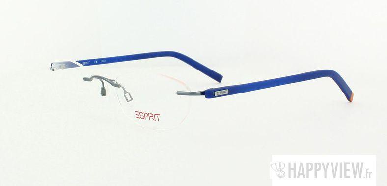 Lunettes de vue Esprit Esprit 17338 argenté/bleu - vue de 3/4