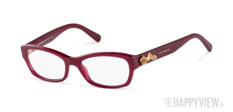 Lunettes de vue Dolce & Gabbana DG 3150 rose - vue de 3/4