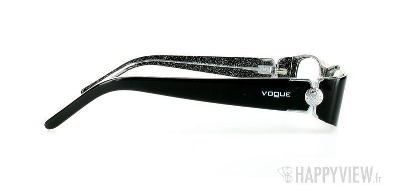Lunettes de vue Vogue Vogue 2634B noir - vue de côté