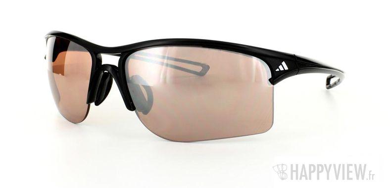 Lunettes de soleil Adidas Adidas 404 noir - vue de 3/4