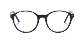 Lunettes de vue Happyview ELEONORE bleu fabriquées en France