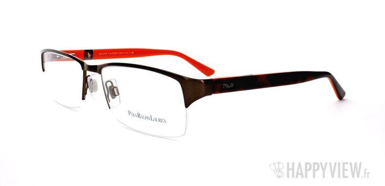 Lunettes de vue Polo Ralph Lauren Polo Ralph Lauren 1075 écaille/orange - vue de 3/4