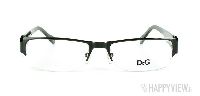 Lunettes de vue Dolce & Gabbana D&G 5074 noir - vue de face