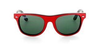 Lunettes de soleil Ray-Ban Ray-Ban Junior Wayfarer rouge/noir