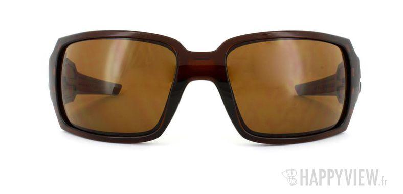 Lunettes de soleil Oakley Oakley Oil Drum marron - vue de face