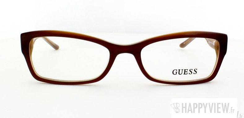 Lunettes de vue Guess Guess 2261 marron - vue de face
