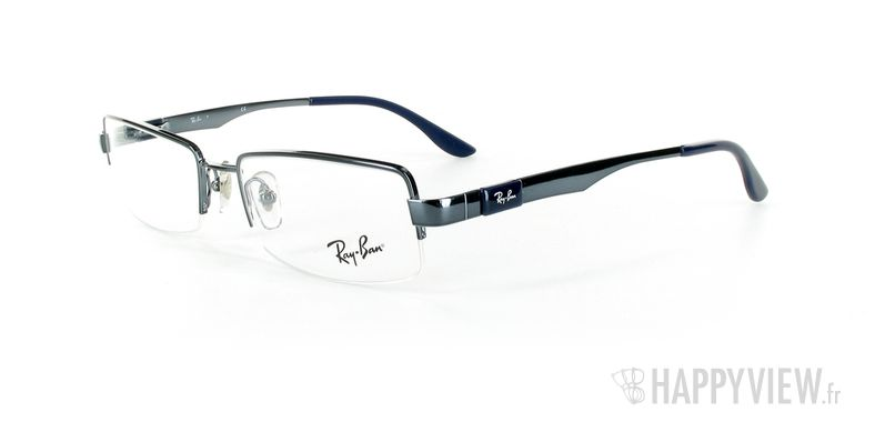 Lunettes de vue Ray-Ban Ray-Ban RX6156 bleu - vue de 3/4