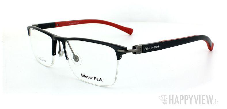 Lunettes de vue Eden Park Eden Park 3563 Magnésium noir/rouge - vue de 3/4