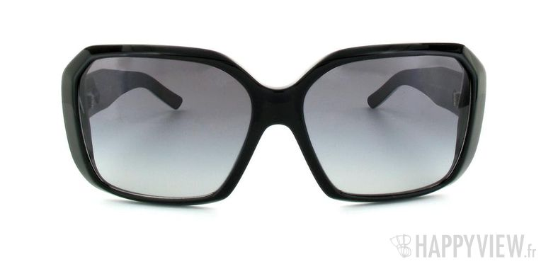 Lunettes de soleil Burberry Burberry 4083 noir/blanc - vue de face