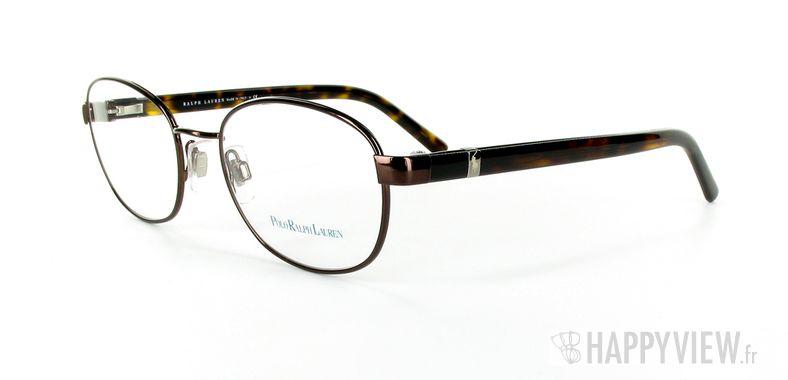 Lunettes de vue Polo Ralph Lauren Polo Ralph Lauren 1073 marron - vue de 3/4