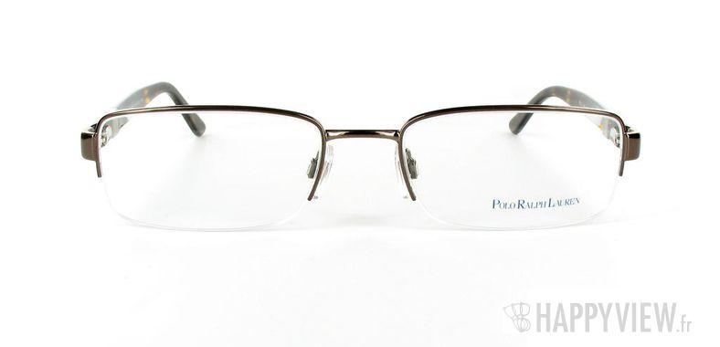 Lunettes de vue Polo Ralph Lauren Polo Ralph Lauren 1060 Large marron - vue de face