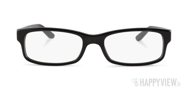 Lunettes de vue Ray-Ban RX 5187 noir - vue de face