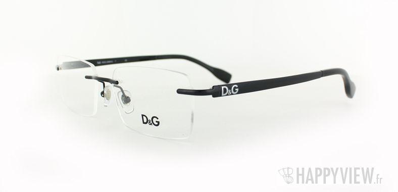 Lunettes de vue Dolce & Gabbana D&G 5106 noir - vue de 3/4