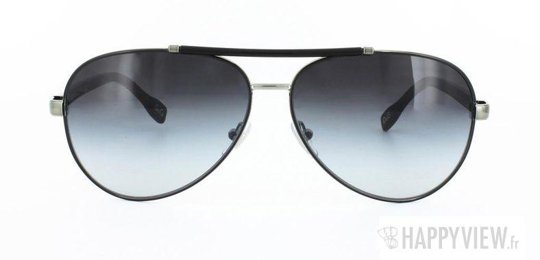 Lunettes de soleil Dolce & Gabbana Dolce&Gabbana 6047 argenté/noir - vue de face