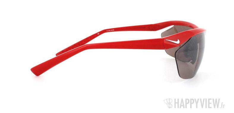 Lunettes de soleil Nike Nike Tailwind E rouge - vue de côté