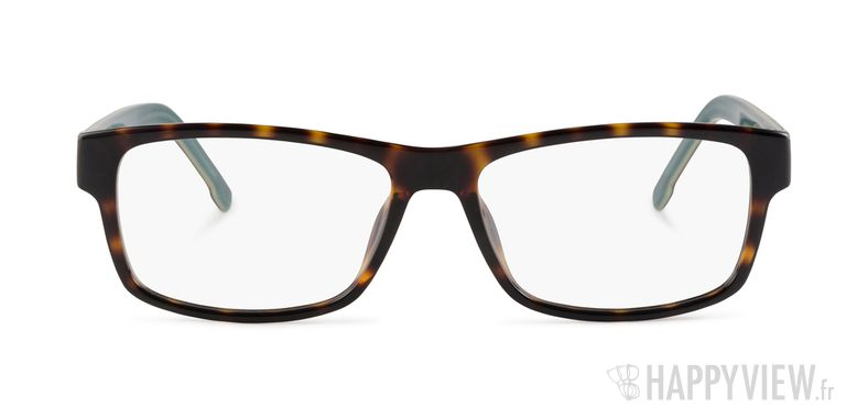 Lunettes de vue Lacoste L 2707 écaille/vert - vue de face