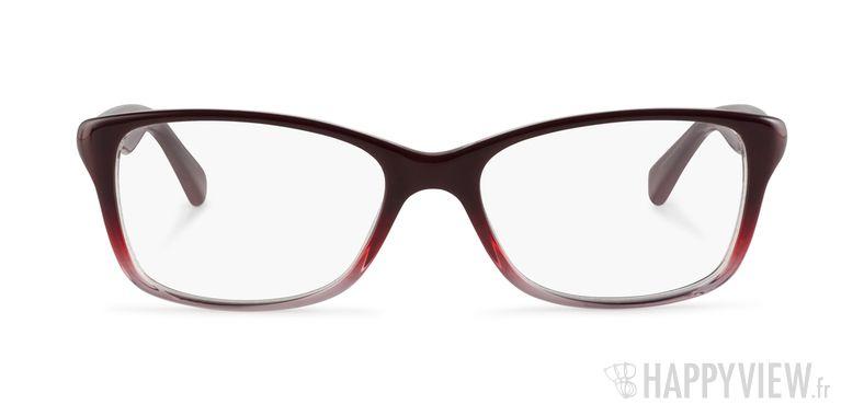 Lunettes de vue Dolce & Gabbana DD 1246 rouge - vue de face