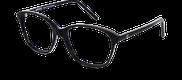 Lunettes de vue Happyview JULIETTE noir - vue de 3/4 miniature