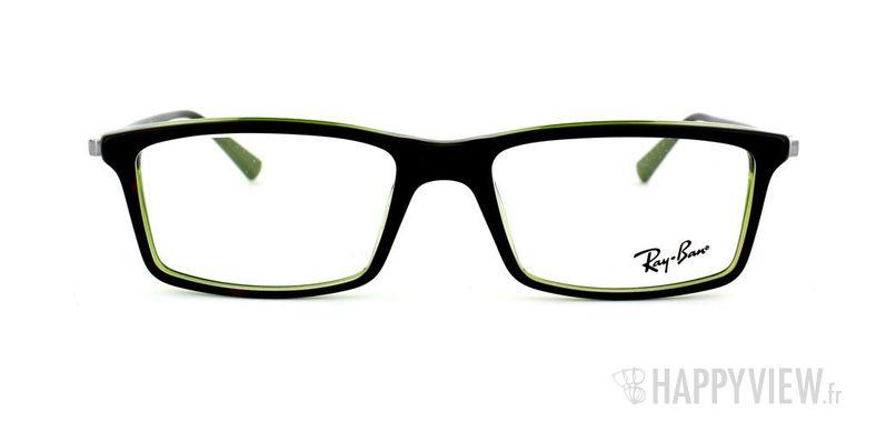 Lunettes de vue Ray-Ban Ray-Ban RX5269 écaille/vert - vue de face