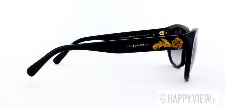 Lunettes de soleil Dolce & Gabbana Dolce & Gabbana 4160 noir - vue de côté