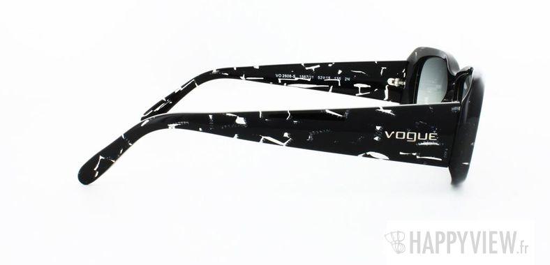 Lunettes de soleil Vogue Vogue 2606S noir - vue de côté
