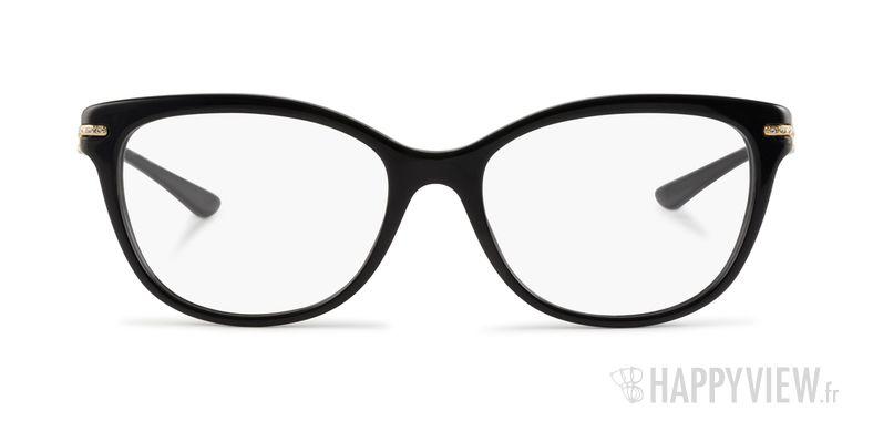 Lunettes de vue Versace VE 3205B noir - vue de face