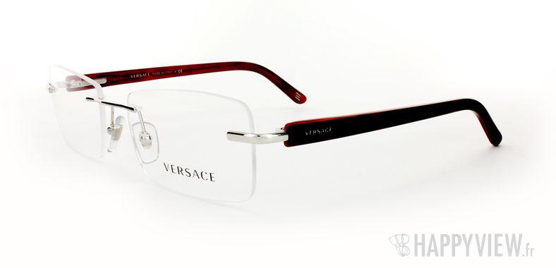 Lunettes de vue Versace VERSACE 1194 écaille/rouge - vue de 3/4