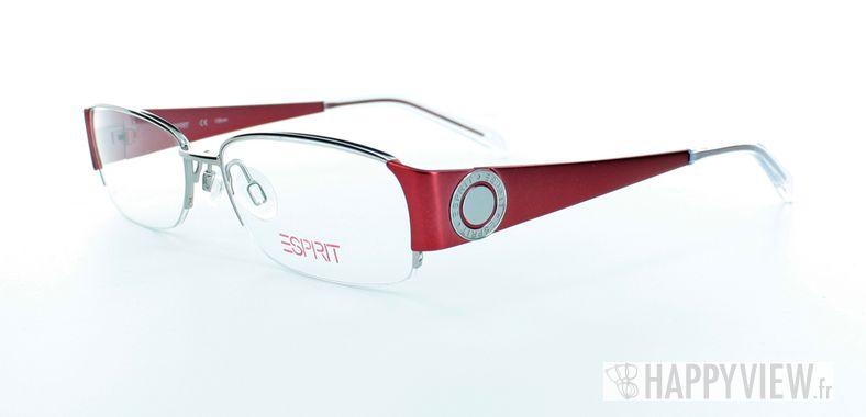 Lunettes de vue Esprit Esprit 17302 rouge/gris - vue de 3/4