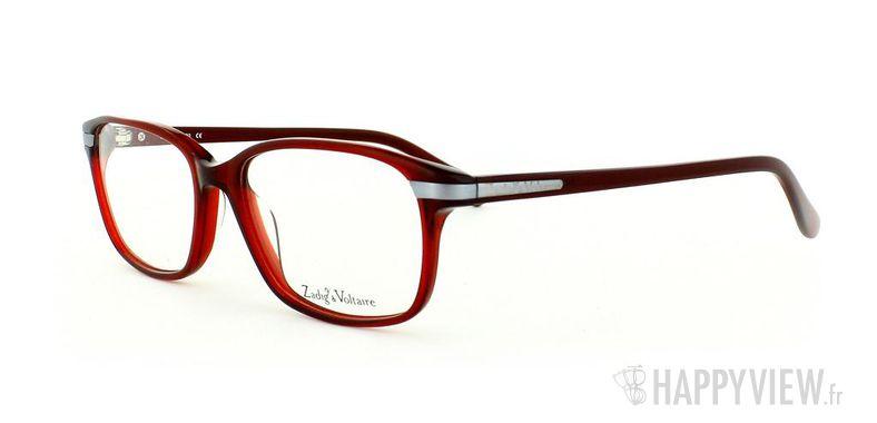 Lunettes de vue Zadig&Voltaire Zadig&Voltaire 2014 rouge - vue de 3/4