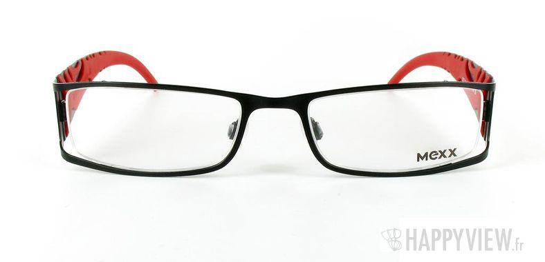 Lunettes de vue Mexx Mexx 5042 noir/rouge - vue de face