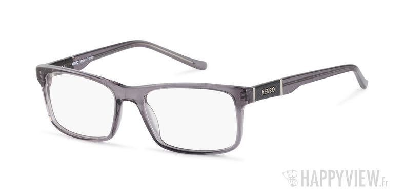 Lunettes de vue Kenzo KZ 4163 gris - vue de 3/4