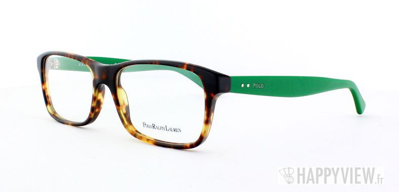 Lunettes de vue Polo Ralph Lauren Polo Ralph Lauren 2094 écaille/vert - vue de 3/4