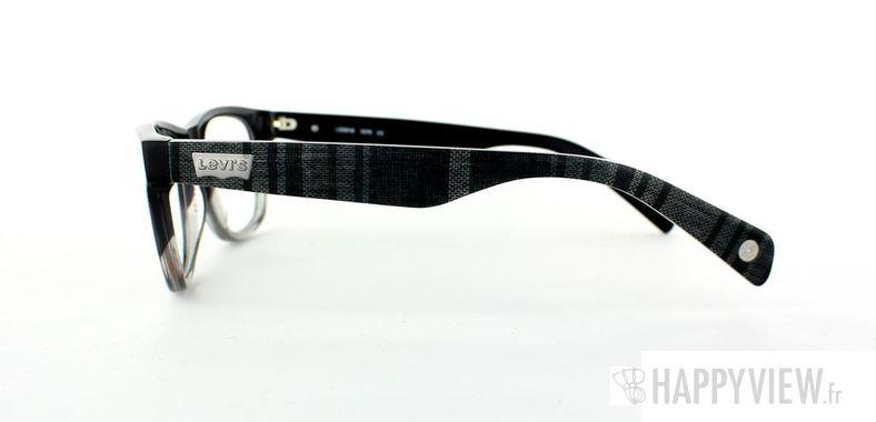 Lunettes de vue Levi's Levi's 3018 Tissu gris/autre - vue de côté