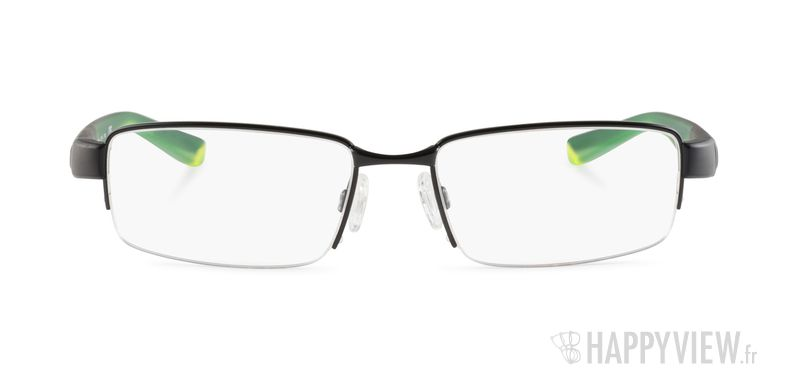 Lunettes de vue Nike 8165 noir/vert - vue de face