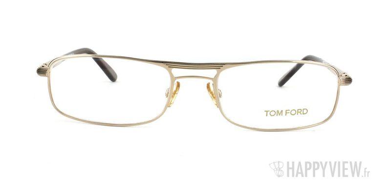 Lunettes de vue Tom Ford Tom Ford 5032 doré - vue de face