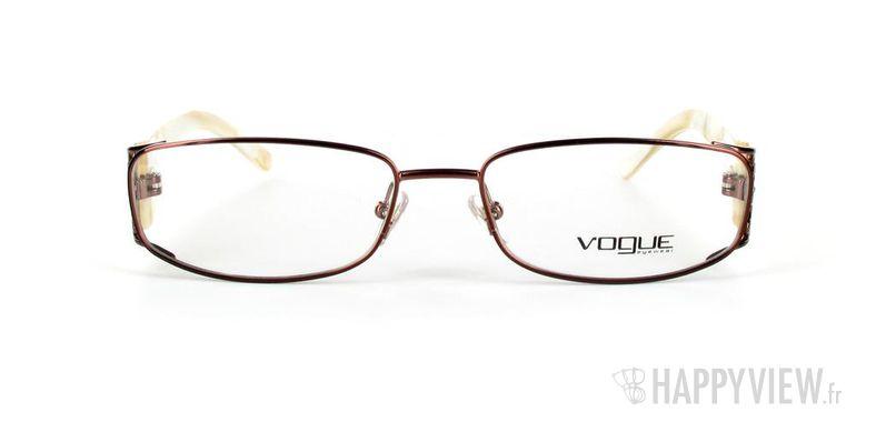 Lunettes de vue Vogue Vogue 3661B doré/blanc - vue de face