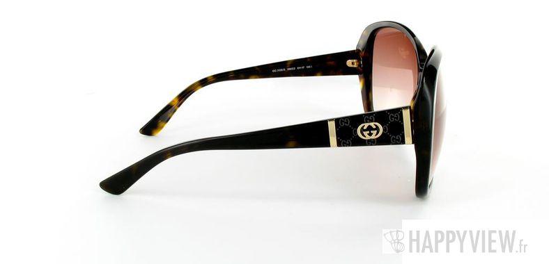 Lunettes de soleil Gucci Gucci 3126 écaille - vue de côté