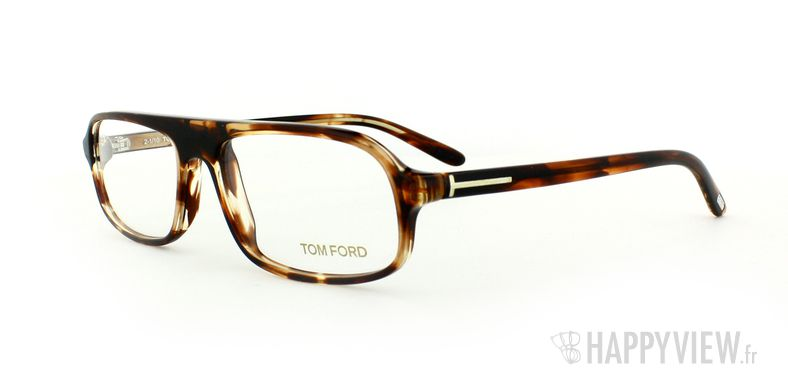 Lunettes de vue Tom Ford Tom Ford 5165 écaille - vue de 3/4