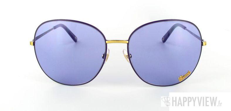 Lunettes de soleil Gucci Gucci 2899 bleu - vue de face