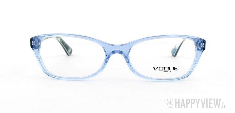 Lunettes de vue Vogue Vogue 2737 bleu/autre - vue de face