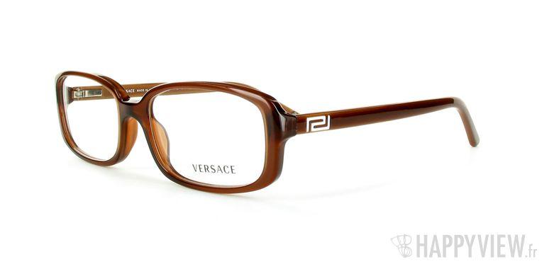 Lunettes de vue Versace VERSACE 3132H marron - vue de 3/4