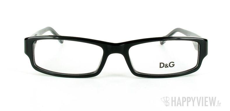 Lunettes de vue Dolce & Gabbana D&G 1168 noir - vue de face