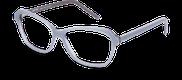 Lunettes de vue Happyview DIANE bleu - vue de 3/4 miniature