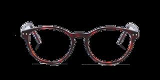 Lunettes de vue Happyview CAPUCINE rouge fabriquées en France