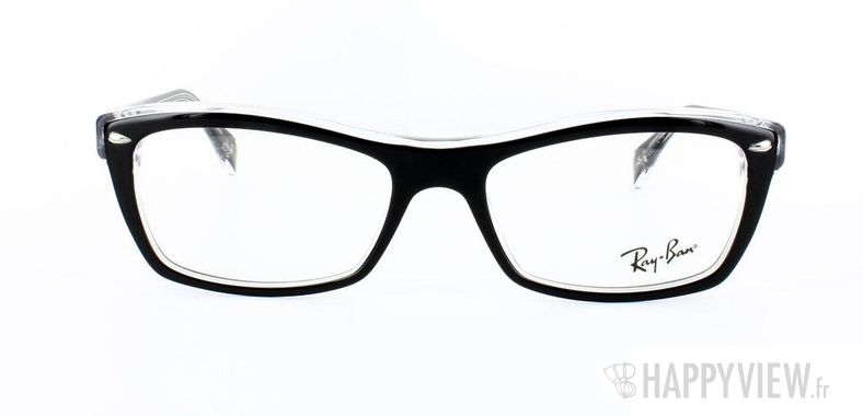 Lunettes de vue Ray-Ban Ray-Ban RX5255 noir/gris - vue de face
