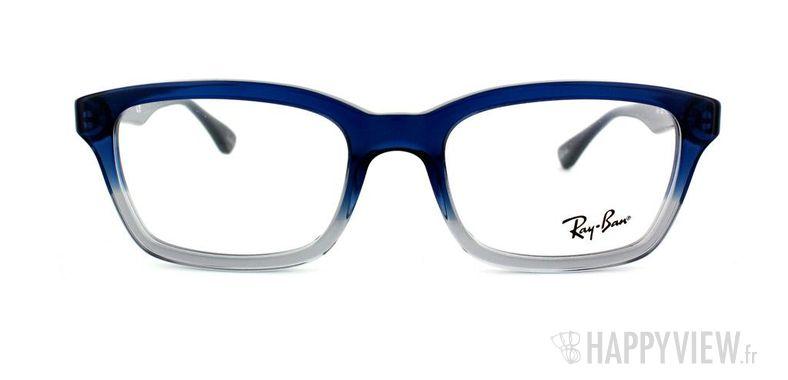 Lunettes de vue Ray-Ban Ray-Ban RX5267 bleu/gris - vue de face