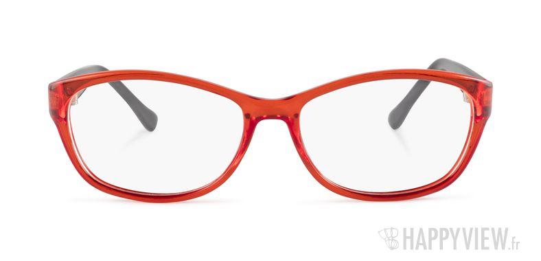 Lunettes de vue Happyview Aurillac rouge - vue de face