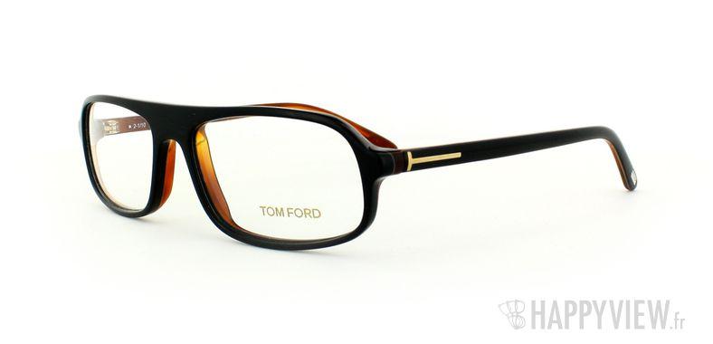 Lunettes de vue Tom Ford Tom Ford 5165 noir - vue de 3/4